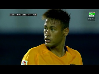 Neymar Jr. vs Celta Vigo (Away) 2015-16 HD 720p
