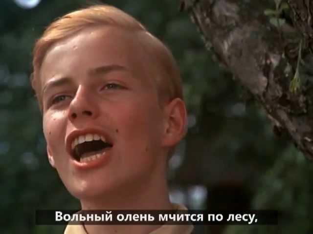 Завтра принадлежит мне (сцена из к-ф Кабаре, русские титры)