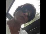 Shah Rukh Khan Twitter Video Musings from the car