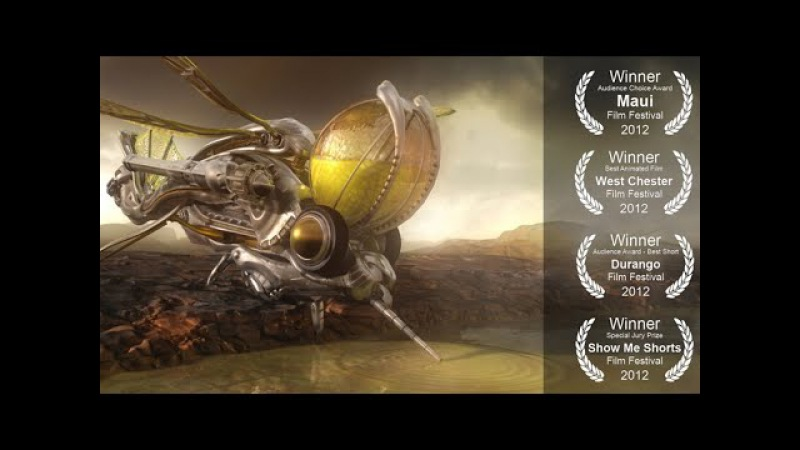CGI **AWARD-WINNING** Sci-Fi Short Film Abiogenesis - by Richard Mans