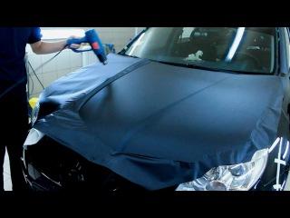 Как оклеить авто пленкой Luxon