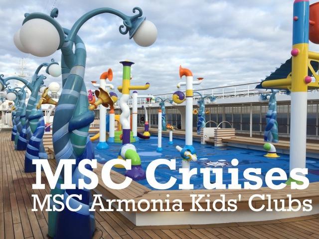 MSC Cruises Kids Clubs - MSC Armonia Lego, Duplo Chicco Clubs