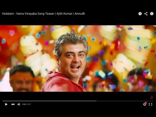 Vedalam - Veera Vinayaka Song Teaser | Ajith Kumar | Anirudh