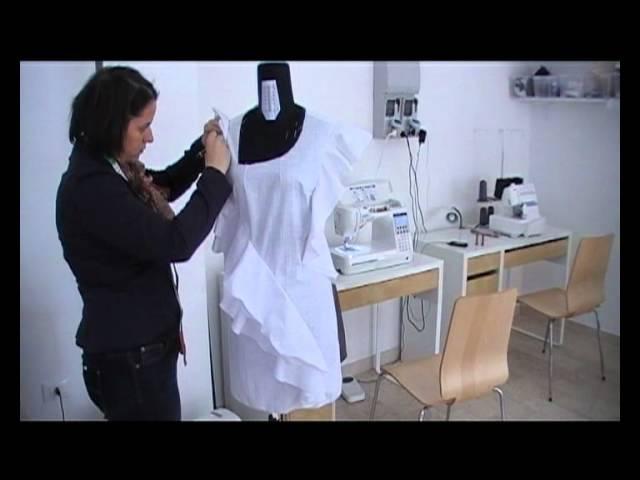 Sartoria Salotto Italiano : Видео sartoria salotto italiano abito su misura donna