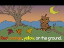 Fall and Autumn Counting Song for Kids - How Many Leaves? - ELF Learning