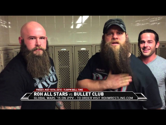[IWU] ROH All Stars look to take out Bullet Club ... and Bobby Fish has a message for Jay Briscoe
