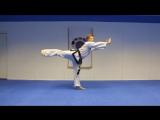 Taekwondo Kicking Tutorials Promo (Ginger Ninja Trickster)