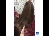 Блики на длинных волосах 👌