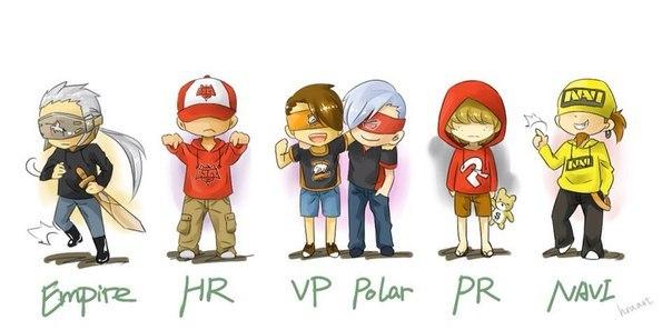Virtus.pro, NAVI, Team Empire, Vega Squadron, HellRaisers, PowerRangers, CIS Rejects