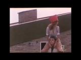 Stefania Casini shoulder riding in movie I prosseneti