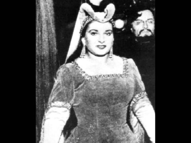 IL Trovatore 1953 LIVE Scala Maria Callas (D'amor sull'ali rose Miserere)