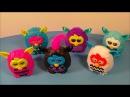 2013 Фёрби бум (иностранный обзор на 6 игрушек) FURBY BOOM SET OF 6 McDONALD'S HAPPY MEAL KID'S TOY'S VIDEO REVIEW