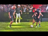 Sean Garnier &amp Herrera vs Zidane &amp Enzo