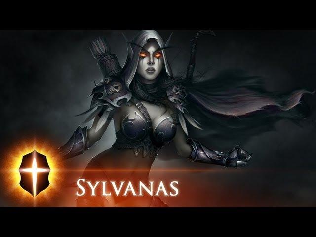 Sylvanas WindRunner - Original SpeedPainting by TAMPLIER 2011