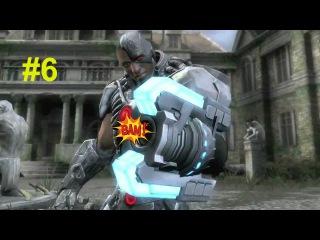 Injustice: Gods Among Us - Прохождение на русском на PC - Part 6 - КИБОРГ