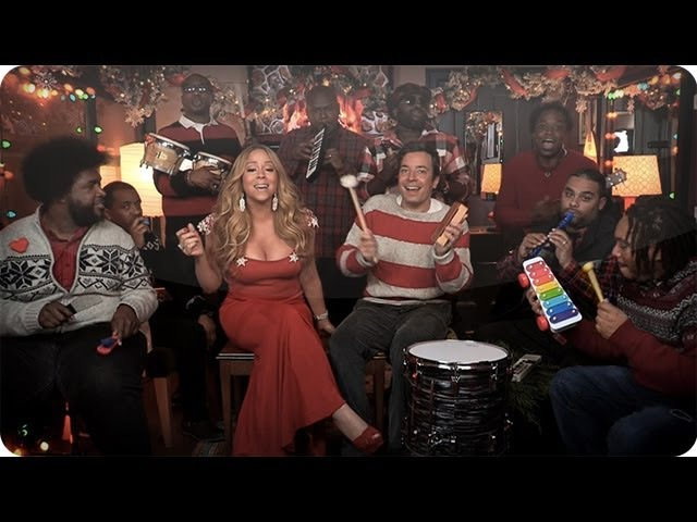 Jimmy Fallon, Mariah Carey The Roots: All I Want For Christmas Is You (w/ Classroom Instruments)