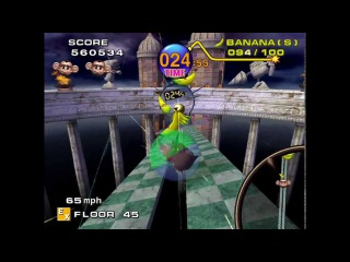 [HD TAS] Super Monkey Ball