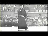 Katori shinto ryu shurikenjutsu : démonstration de Someya Chikatoshi, élève de Sugino Yoshio (1950)