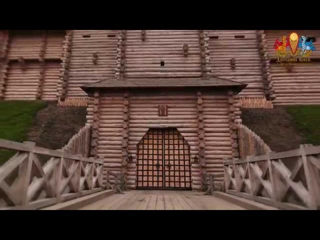 Timelapse Древний Киев в Парке Киевская Русь