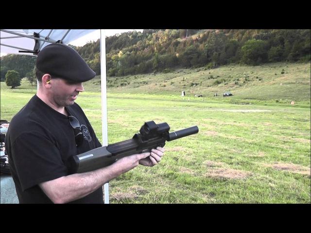 FN P90 Full Auto Gemtech G5 Silencer