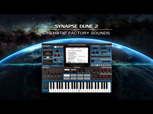 【CINEMATIC】Synthesizer Synapse DUNE 2 Factory Sounds!