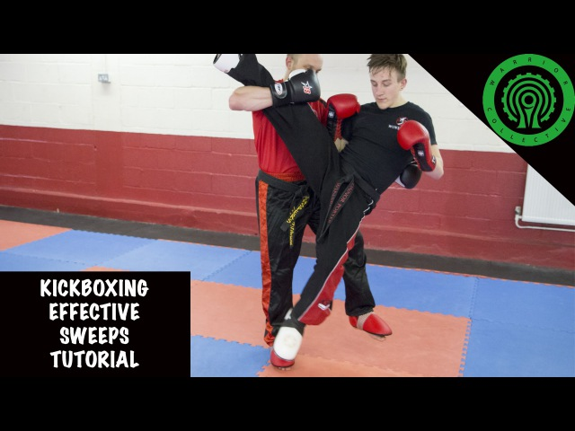 Kickboxing Effective Sweeps Tutorial