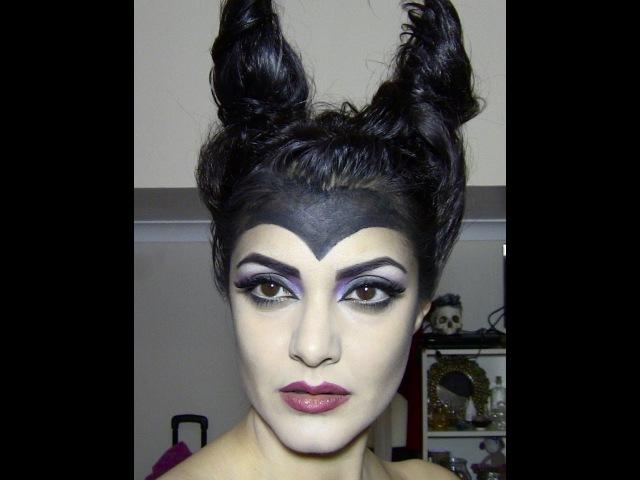 MALEFICENT (Angelina Jolie) inspired makeup tutorial