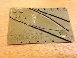 Нож-кредитка с Aliexpress (Credit Card Knife)