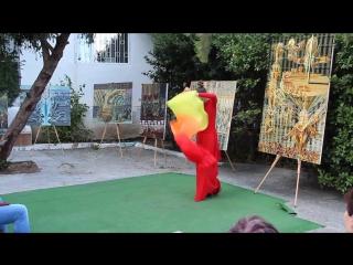 Выставка полотен А.А. Жохова в Доме Коровина, Гурзуф 2015г