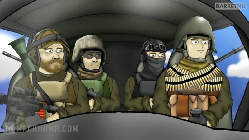 Друзья по Батле: Первый Полёт / Battlefield Friends: First Flight (RUS VO)