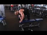 Мастер-класс Victor Martinez. Тренировка мышц спины