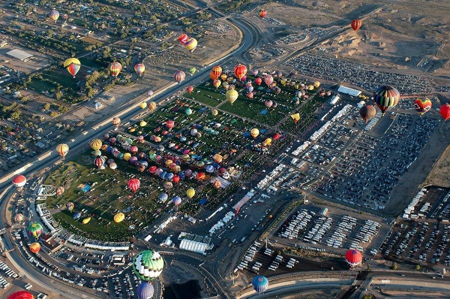 Альбукерке Balloon Fiesta 2014