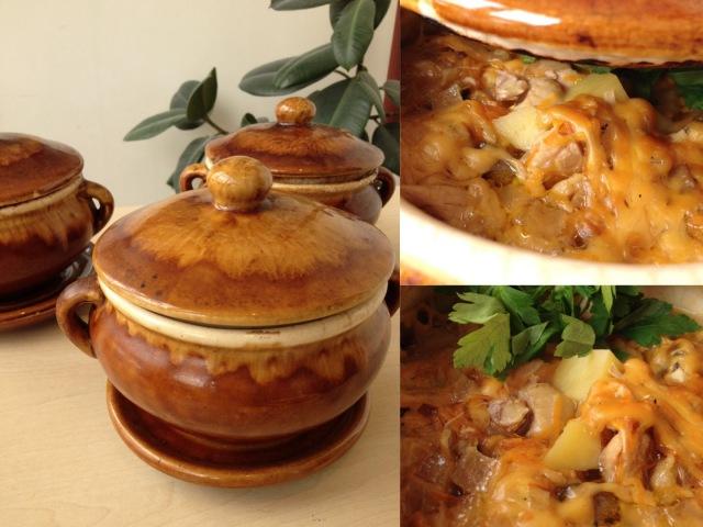 Картошка в Горшочках с Грибами (горшочке) Вкусно к Любому Столу | Pot Roast with Potatoes and Meat