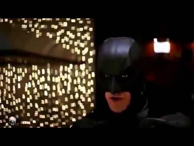 Черный плащ Темный рыцарь перевод гоблина Бэтмен