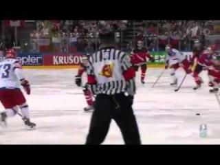 Канада Россия 2:0. Russia - Canada. Второй гол. чемпионат мира по хоккею смотреть онлайн
