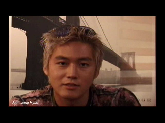 장혁 Jang Hyuk Message 2000 TJ-Project (SidusHQ VIDEO)チャン・ヒョク