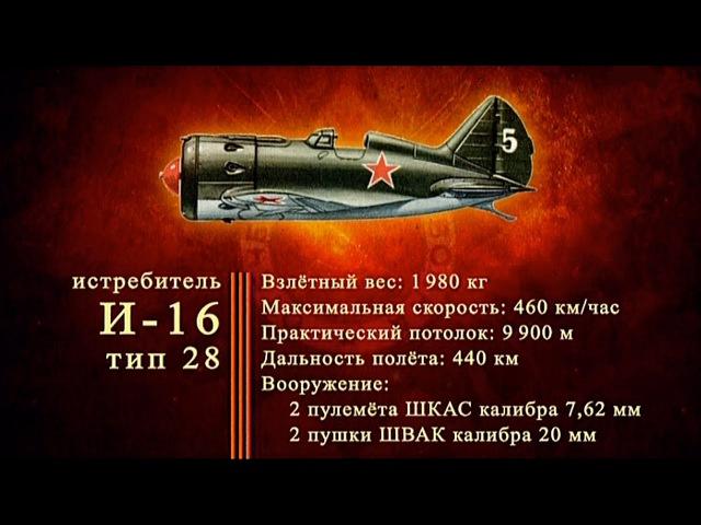 Д/ф «Оружие Победы» - Истребитель И-16