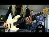 Experimental Fretless Funk Rock Bass &amp Drum Grooves