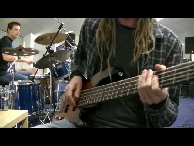 Double Stop Slap Bass Drum Jam