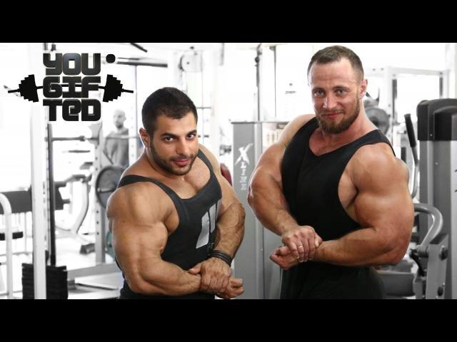 Три тяжелых жима! Ашот Каграманян и Лесуков Илья.
