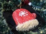 Новогодний салат с крабовыми палочками и рисом Варежка Деда Мороза  Пошаговый рецепт с фото