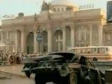 7 дней с русской красавицей (1991) - crazy car chase scene
