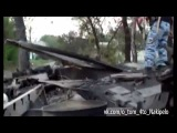 03 09 14 Луганск Лутугино Разбитая колонна
