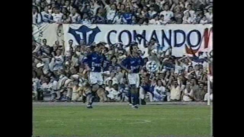 Cruzeiro 1x0 Villa Nova MG 1997 Mineiro 1997 Final Cruzeiro Campeão