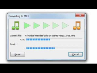 convertir wav a mp3 con total audio converter