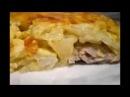 Как приготовить мясо по-французски с картошкой в духовке. Рецепт под видео.