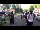GANG FIGHT BLOODS vs CRIPS REAL 1