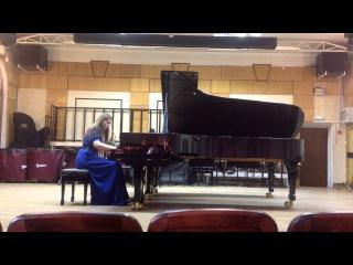 Серова Анастасия (фортепиано) . Рахманинов, этюд-картина g moll