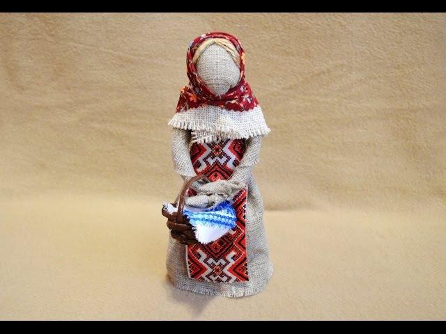 Кукла-мотанка своими руками мастер класс видео