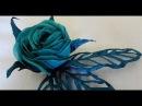 Морская роза Гильоширование или выжигание по ткани